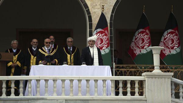 İkinci kez Afganistan Cumhurbaşkanı seçilen Eşref Gani yemin etti. - Sputnik Türkiye