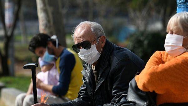 Yunanistan, koronavirüs - Sputnik Türkiye