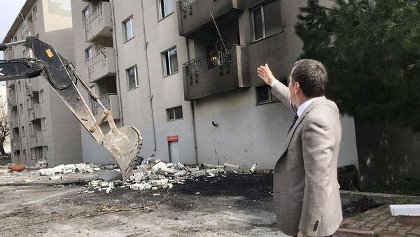 Zeytinburnu, askeri lojman, yıkım - Sputnik Türkiye