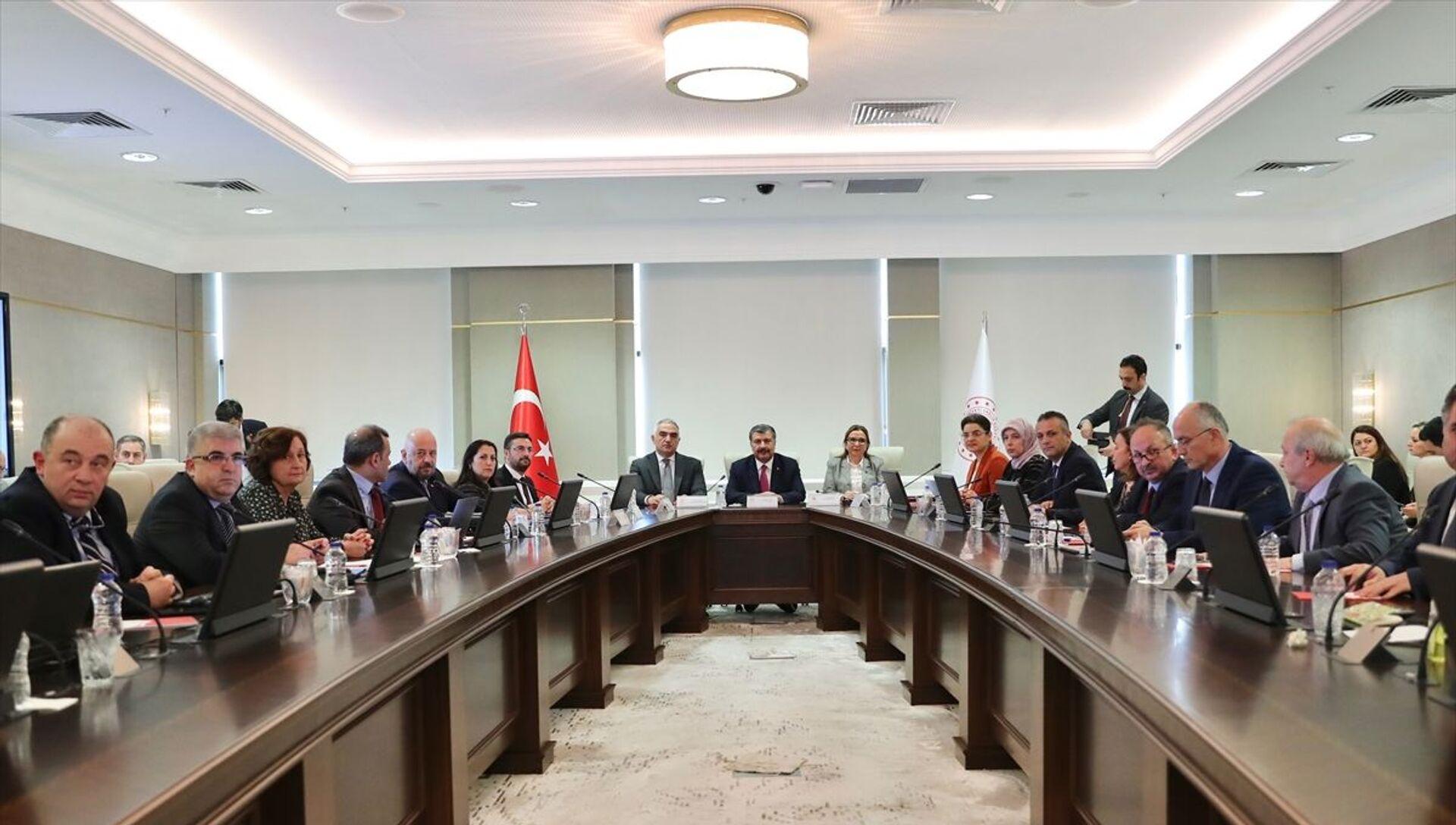 Koronavirüs Bilim Kurulu toplanıyor - 04.08.2021, Sputnik Türkiye