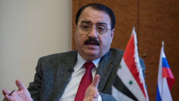 Suriye'nin Moskova Büyükelçisi Riyad Haddad - Sputnik Türkiye