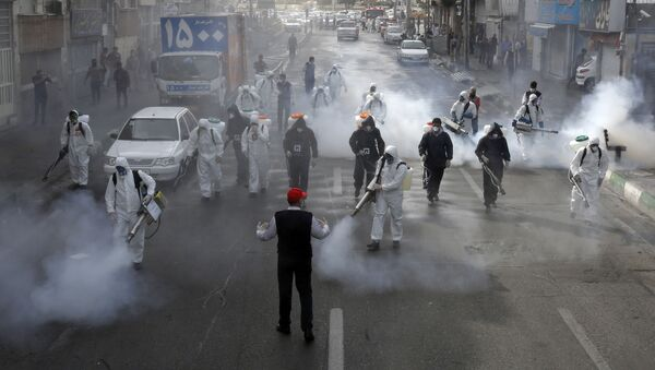 İran-koronavirüs - Sputnik Türkiye