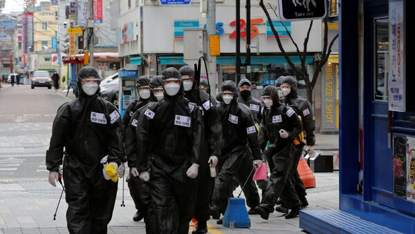 Güney Kore-koronavirüs - Sputnik Türkiye