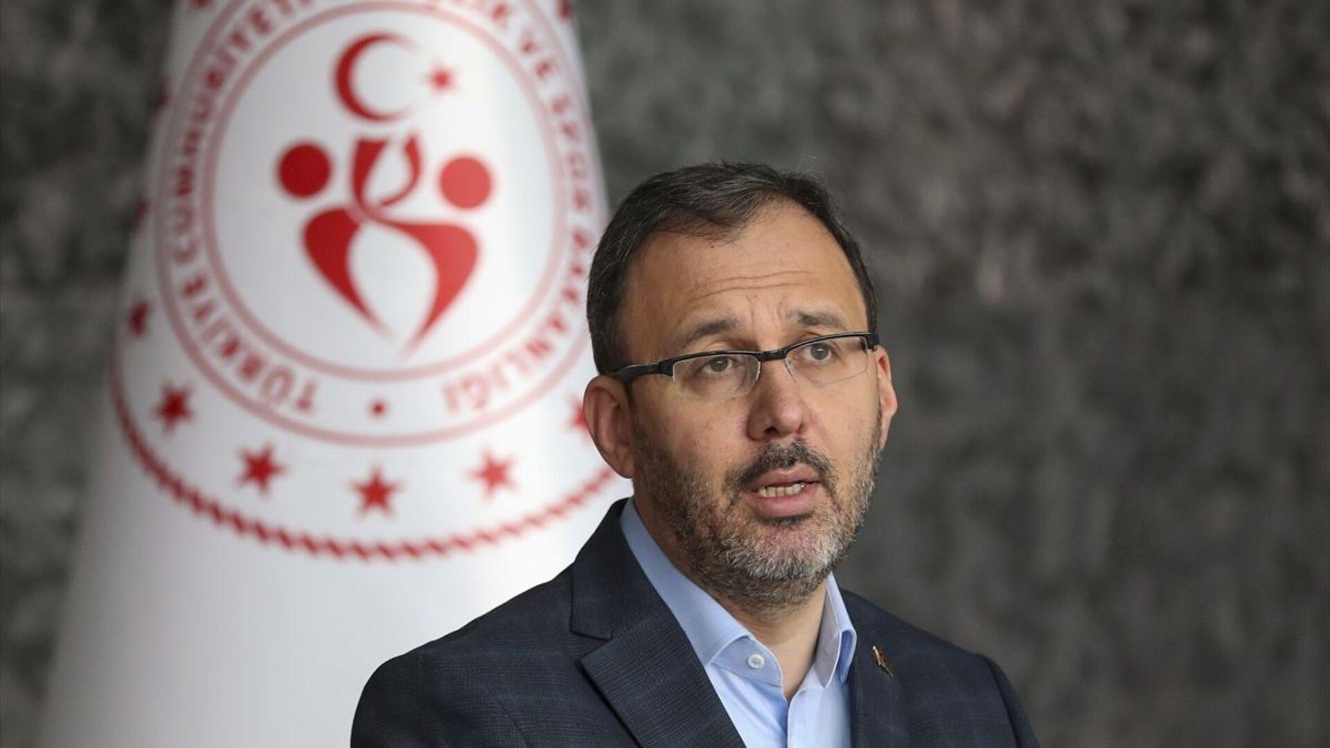 Gençlik ve Spor Bakanı Mehmet Muharrem Kasapoğlu - Sputnik Türkiye, 1920, 22.09.2021