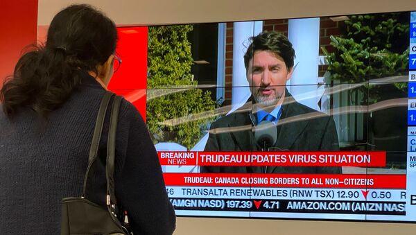 Kanada Başbakanı Justin Trudeau - Sputnik Türkiye