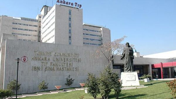 Ankara Üniversitesi İbni Sina Hastanesi - Sputnik Türkiye