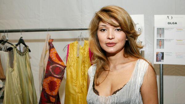 Eski Özbekistan Devlet Başkanı İslam Kerimov'un kızı Gulnara Kerimova - Sputnik Türkiye