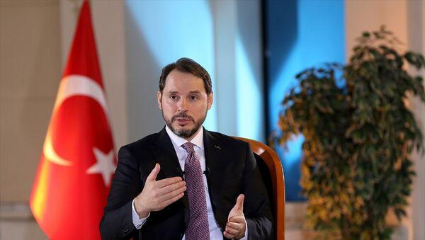 Hazine ve Maliye Bakanı Berat Albayrak  - Sputnik Türkiye