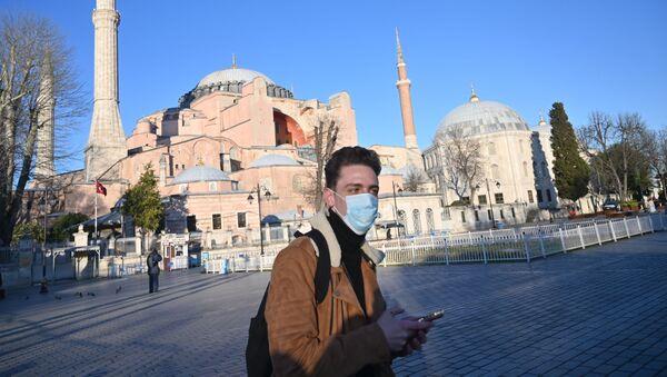 koronavirüs - İstanbul - maske - Türkiye - Sputnik Türkiye