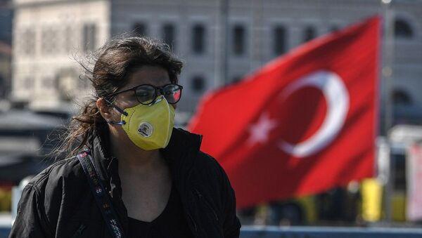 Koronavirüs - İstanbul - Türkiye - maske - Sputnik Türkiye