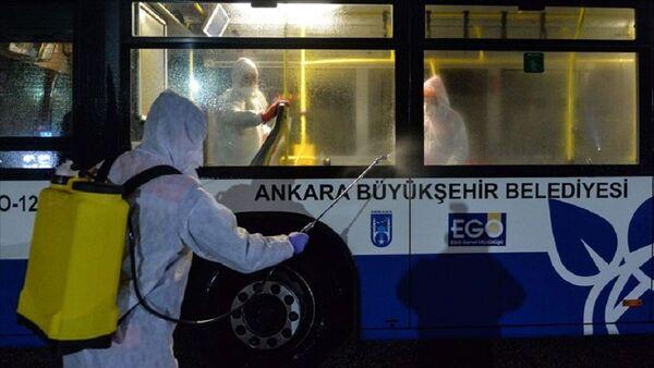 Ankara'da koronavirüs önlemi - Sputnik Türkiye
