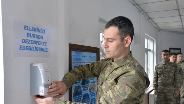 asker-koronavirüs-önlem - Sputnik Türkiye