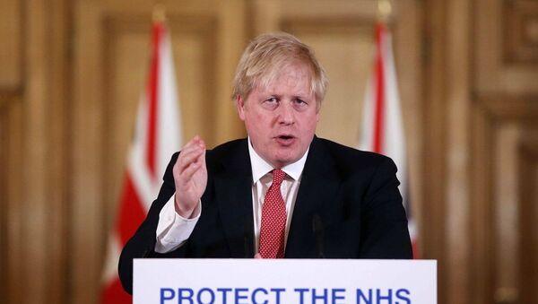 İngiltere Başbakanı Boris Johnson - Sputnik Türkiye