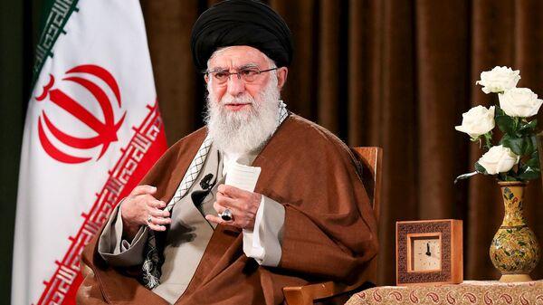 İran lideri Ayetullah Ali Hamaney - Sputnik Türkiye