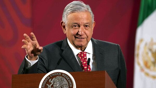 Andres Manuel Lopez Obrador  - Sputnik Türkiye