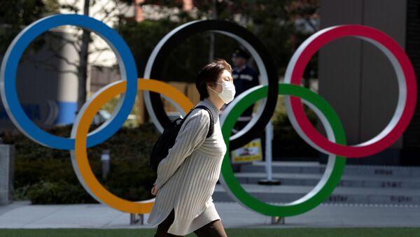 Tokyo'da yapılması planlanan Olimpiay Oyunları 2021'e ertelendi. - Sputnik Türkiye