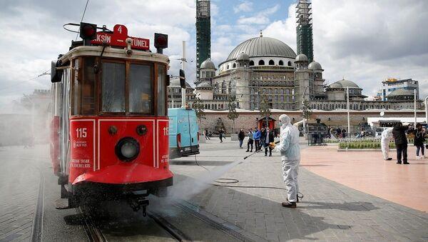 İstanbul, Taksim, koronavirüs - Sputnik Türkiye
