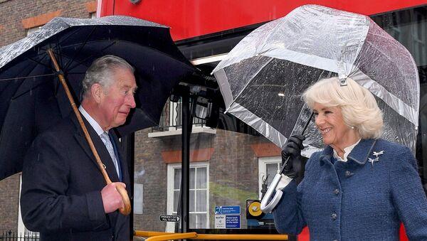 İngiltere Veliaht Prensi Charles ve  Cornwall Düşesi Camilla Parker Bowles - Sputnik Türkiye