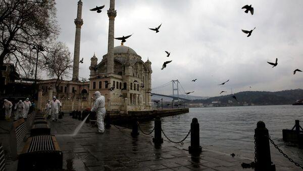 İstanbul, Ortaköy, koronavirüs - Sputnik Türkiye
