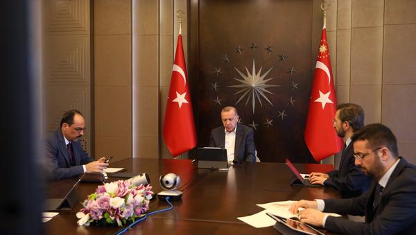 Erdoğan-Hakan Fidan görüşmesi - Sputnik Türkiye