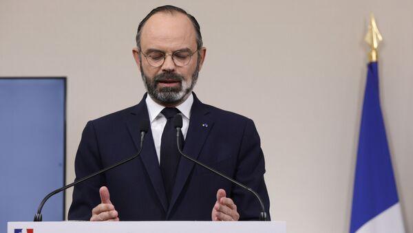 Fransa Başbakanı Edouard Philippe - Sputnik Türkiye