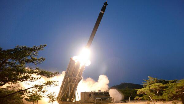 Kuzey Kore kısa menzilli füze denemesi - Sputnik Türkiye