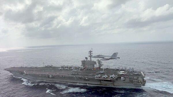 USS Theodore Roosevelt - Sputnik Türkiye