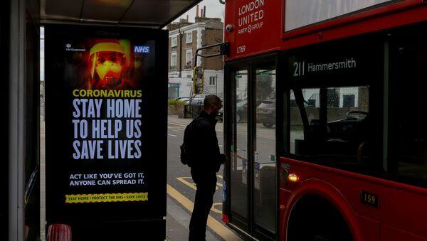 İngiltere'de koronavirüs - Sputnik Türkiye