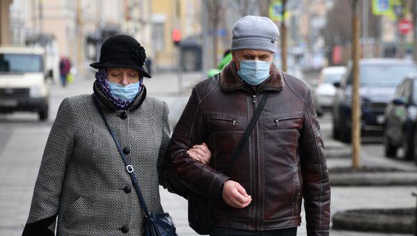 maske - koronavirüs - Rusya - Moskova - Sputnik Türkiye