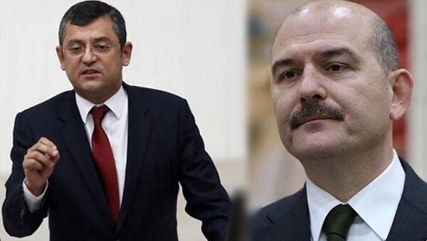 Özgür Özel - Süleyman Soylu - Sputnik Türkiye