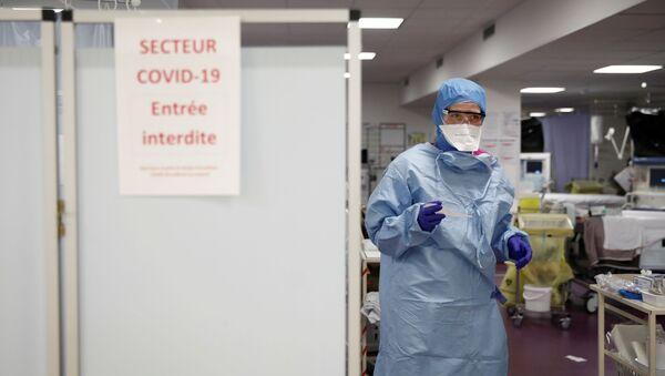 Fransa'da koronavirüs - Sputnik Türkiye