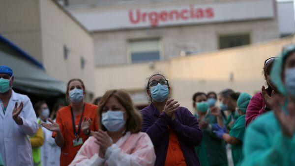 İspanya'da koronavirüs - Sputnik Türkiye