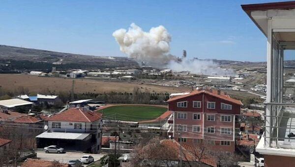 Roketsan patlama - Sputnik Türkiye