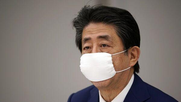 Japonya Başbakanı Abe Şinzo - Sputnik Türkiye