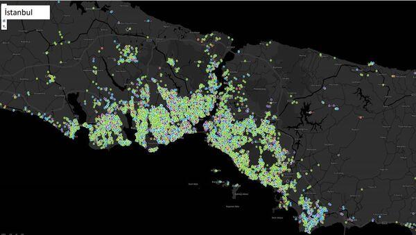 Koronavirüsün İstanbul'daki dağılımı - Sputnik Türkiye