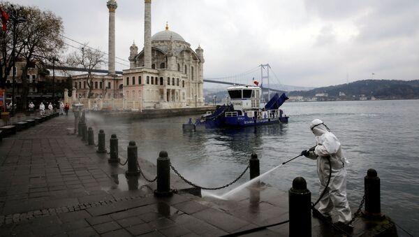 Koronavirüs - İstanbul - Ortaköy - Sputnik Türkiye