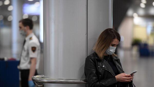 Rusya - koronavirüs - maske  - Moskova - Sputnik Türkiye
