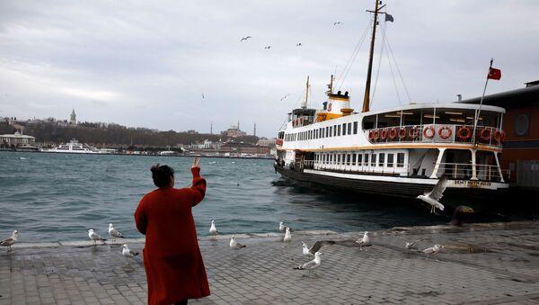 İstanbul-vapur - Sputnik Türkiye