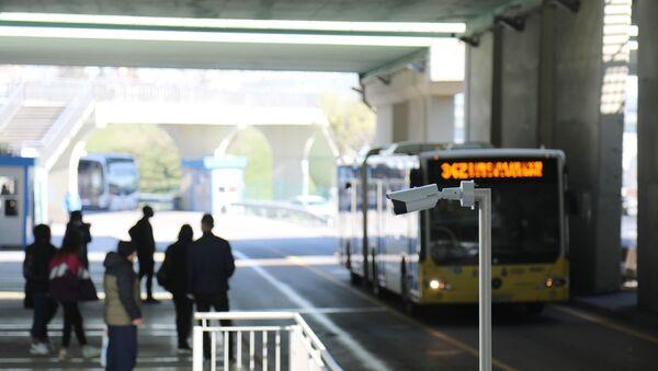 Metrobüs - termal kamera - Sputnik Türkiye