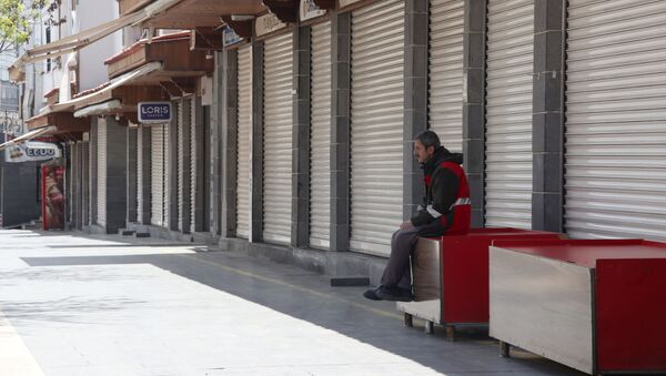 Diyarbakır'da sokağa çıkma yasağı - Sputnik Türkiye