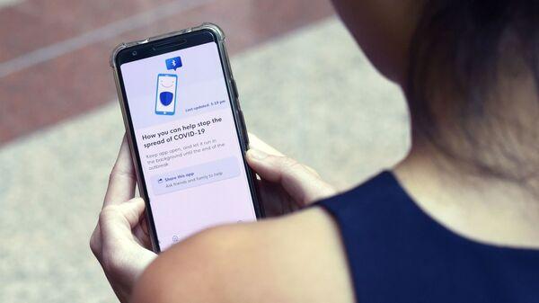 Android, iOS, koronavirüs - Sputnik Türkiye