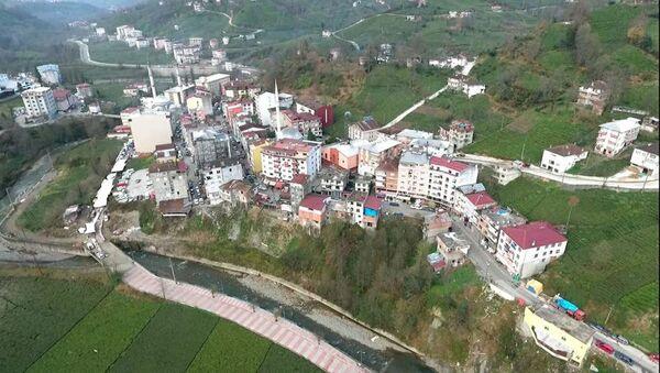 Rize'de 4 mahalle karantinaya alınıyor - Sputnik Türkiye