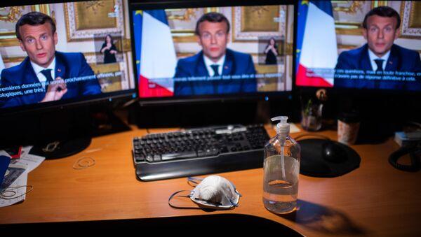 Emmanuel Macron - Sputnik Türkiye
