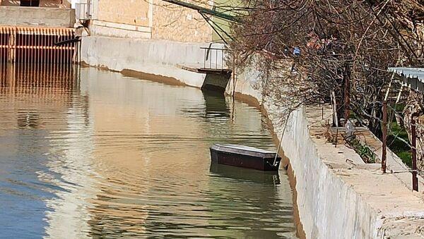 Çoruh Nehri'nde yüzen tabutlar panik yarattı - Sputnik Türkiye