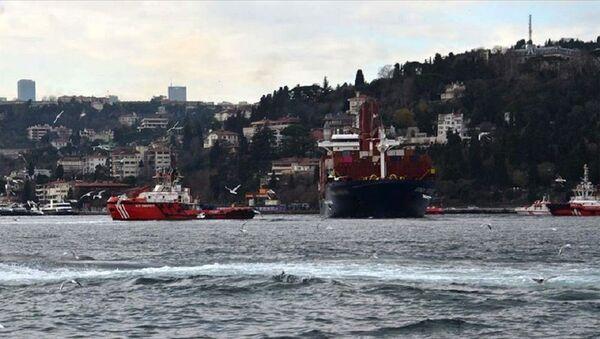 Boğaza evsel atıksu deşarj eden kuru yük gemisine 2 milyon 397 bin lira ceza kesildi - Sputnik Türkiye
