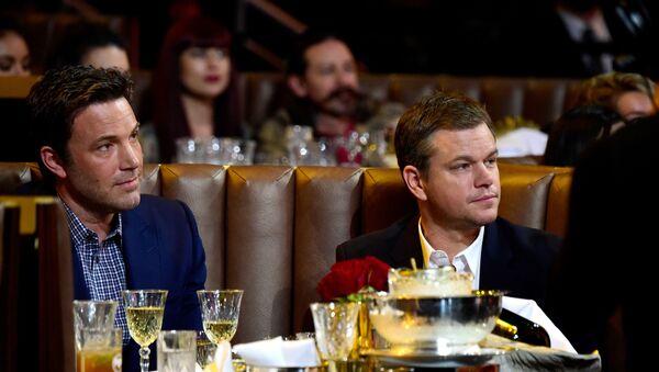 Matt Damon ve Ben Affleck  - Sputnik Türkiye