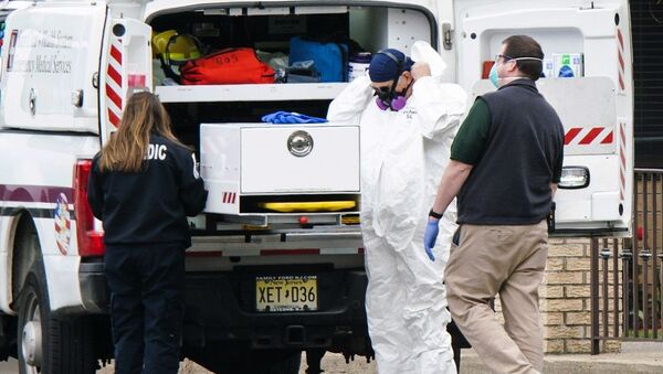 New Jersey'de bir bakımevinde 17 ceset bulundu - Sputnik Türkiye