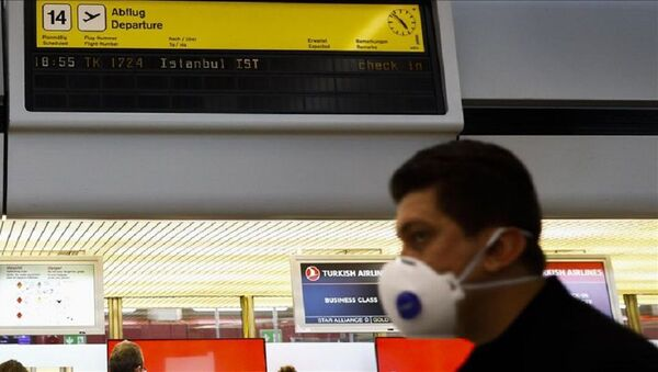 havalimanı, havaalanı, koronavirüs - Sputnik Türkiye