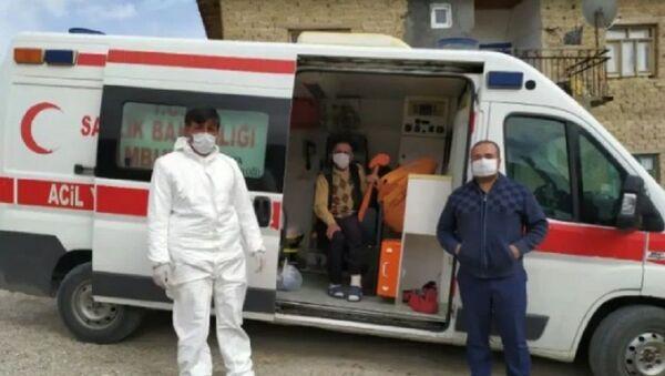 Malatya, KOAH hastası koronavirüsü yendi - Sputnik Türkiye
