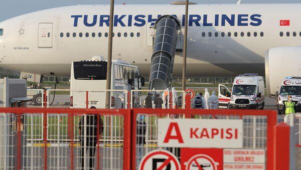 Almanya'dan 289 Türk vatandaşı Samsun'a getirildi - Sputnik Türkiye